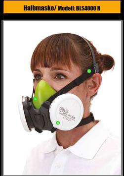 Halbmasken / Atemschutzmaske / BLS4000R