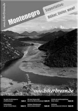 Motorradtour durch Montenegro | E-Book