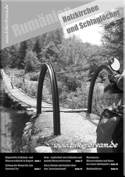 Motorradtour durch Rumänien | E-Book