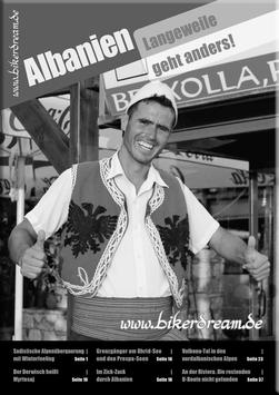 Motorradtour durch Albanien | E-Book
