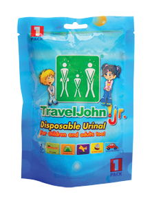 Travel John! Jr. 1 pack – (1 unidad)