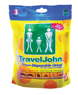 Travel John! 3 pack – (3 unidades)