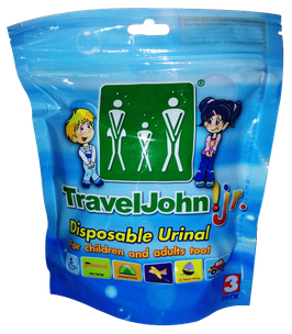 Travel John! Jr. 3 pack – (3 units)