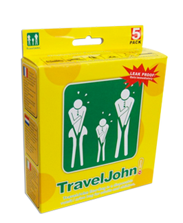 Travel John! 5 pack – (5 unidades)