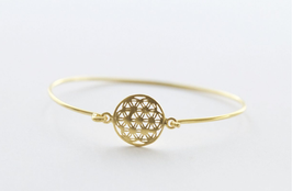 Flower of Life Bangle