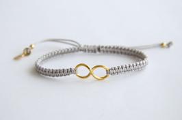 Karma Bracelet Infinity / senfgelb