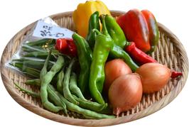 数量限定! 農薬・化学肥料不使用栽培のお野菜詰合せBOX(80サイズ)