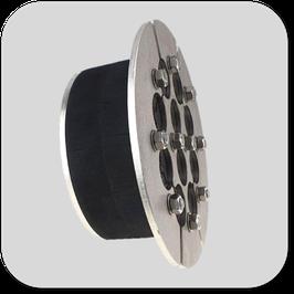 Universal-Mehrfach Dichteinsatz  geteilt aufklappbar gegen  drückendes Wasser mit 60 mm Dichtbreite