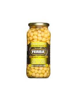 Garbanzos. Lata medium. 570 gram