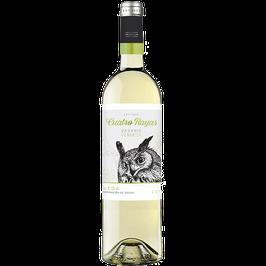 Cuatro Rayas Organic Verdejo, Vino Blanco. 750 ml.