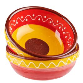 Handgemaakt Spaans Tapas schaaltje van Bowls and Dishes. Doorsnede 10 cm.