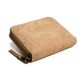 Damen Portemonnaie aus Kork - cream