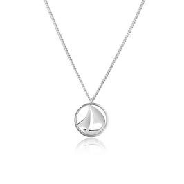 Halskette Sail Away Silber