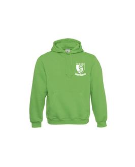 Kapuzensweat grün