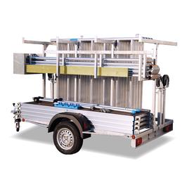 KiezGerüst Anhänger & Fahrgerüst Ah. 8,30 Meter komplett