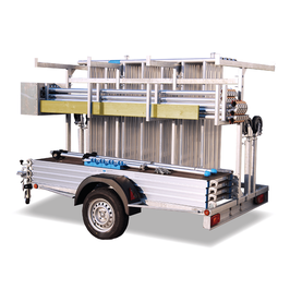 KiezGerüst Anhänger & Fahrgerüst Ah. 6,30 Meter komplett
