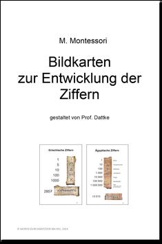 Ma02: Bildkarten zur Entwicklung der Ziffern