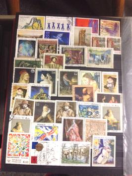 Collection complète mondiale de timbres