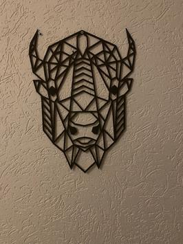 Wanddecoratie Bizon