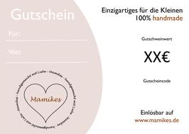 Mamikes Gutschein