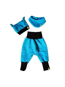 Set Uni Blau Gr. 74/80
