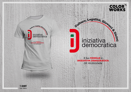 T-shirt Iniziativa Democratica