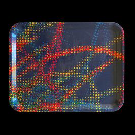 Tray - Tablett - Plateau TML 119 Pixel Blue 1