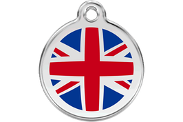RedDingo Hundemarke UK Flag