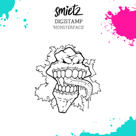 """Digistamp """"Monsterface"""""""