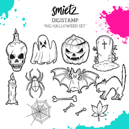 "Digistamp ""Big Halloween Set"""