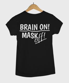 "HERRENSHIRT ""ÖSTERREICHistFREI - BRAIN ON! MASK off!"""