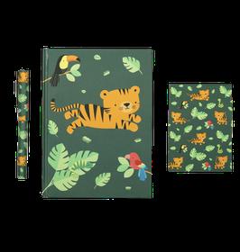 Schreibset 'Dschungel Tiger'