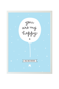 A lilltle lovely company Poster 'My happy'