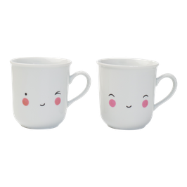 A little lovely company 'Thirs-Tea' Tassen Set 'Happy'