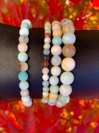 bracelet amazonite multi couleurs