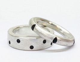 Handgemachte Verlobungsringe aus Silber
