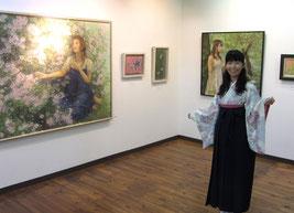 2013.9.8 ギャルリーオー(大津)にて