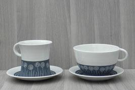 Ensemble petit déjeuner - mug avec sous-coupe 28 € l'ensemble  OU  bol avec sous-coupe 30€ l'ensemble