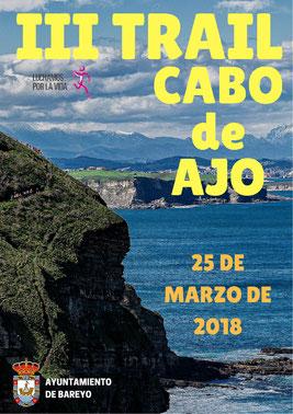 III TRAIL CABO DE AJO - Bareyo-Aja, 25-03-2018