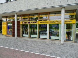 Gebäudeansicht Vermessungstechnik Ahlebrandt
