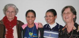 Sisters Maria, Janethina, Janete, Angelina