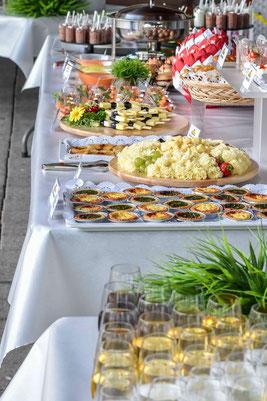 Hochzeit-Catering und Hochzeit-Apero, Dorfmetzg Buch, Aargau