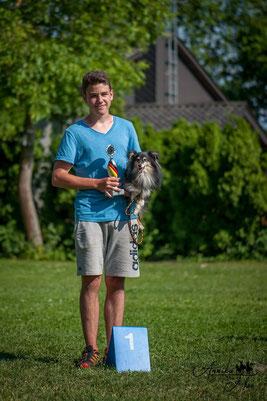 Luca Heinen Badischer Meister Mini 2015