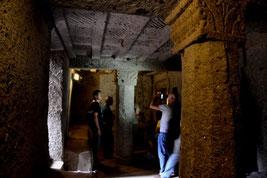 Nella Tomba dei Capitelli