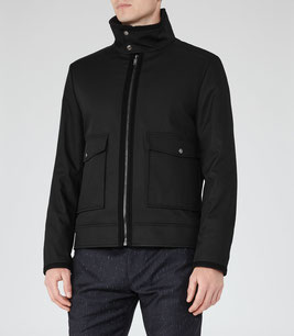 Reiss black jacket