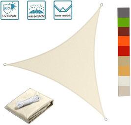 vela #tenda #ombreggiante #arredo #giardino #esterno #outdoor #impermeabile #triangolare #beige #PES