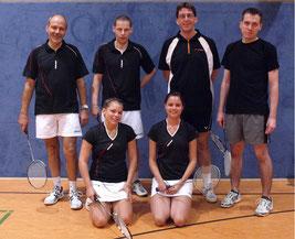 3.Mannschaft v.l.: Peter Röder, Michaela Ritter, Kai Döllermann, Ina Backhaus, Andreas Friese und ? (Andreas Häger fehlt)