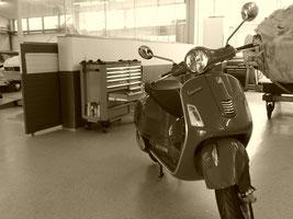 Oldtimer Vespa Brassat Ilsede Fahrzeugbau
