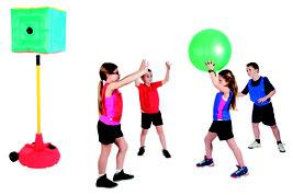 Ensemble de jeu de poull-ball. Matériel de poull ball en kit au meilleur prix. Ballon de poullball, plateforme de poull-ball à acheter pas cher.