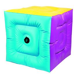 Cube de poull-ball 50 x 50. Cube gonflable de poull ball à acheter au meilleur prix.